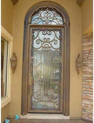 Nice Wrought Iron Door Entry Door SAT D103 ,exterior Doors Shower Door And  Single