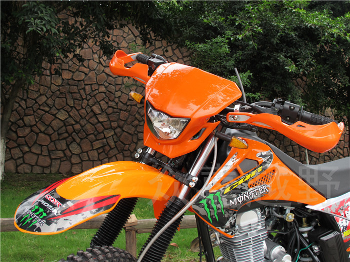 Motorcycle Motocross Dirtbike MX ATV Handguards Handlebar Brush Guards For KTM 125 144 150 250 300 400 450 500 525 690 Orange motorcycle front rider seat leather cover for ktm 125 200 390 duke