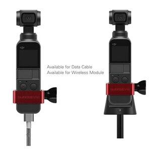 Image 5 - Metal Genleşme için Montaj Adaptörü DJI Osmo Cep 1/4 inç gopro adaptörü Spor kamera tripodu El Gimbal Aksesuarları