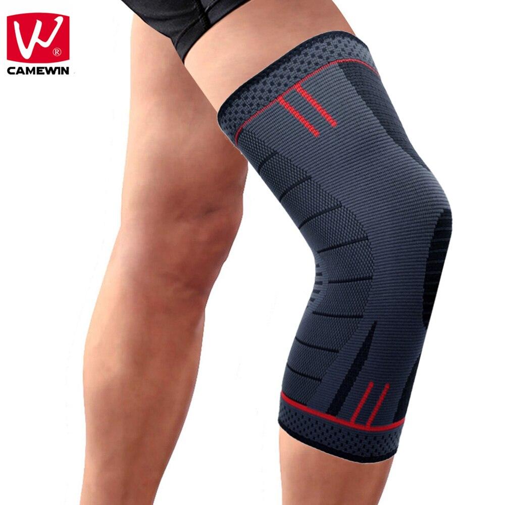 CAMEWIN 1 unids rodillera, rodillera para correr, artritis, desgarro de meniscos, deportes, alivio del dolor articular y recuperación de lesiones