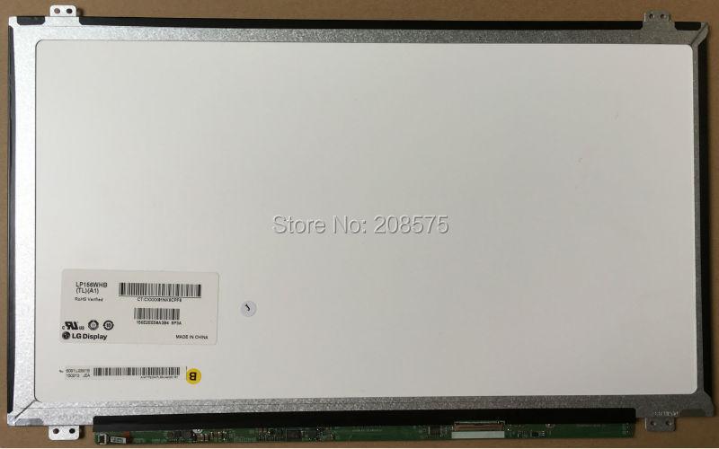 цены  Free Shipping LP156WHB TLA1  LP156WHB TLD1 LP156WHB TLC1 fit LTN156AT20 B156XW04 V.5 V.6 V.0 40 pin 15.6 slim 40 pin 1366X76