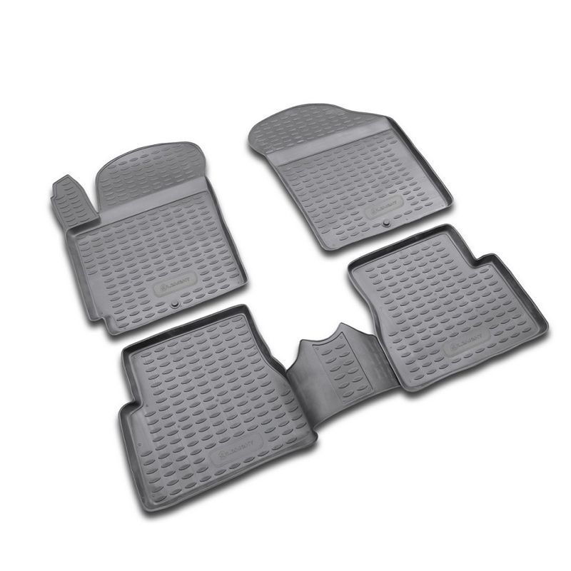 Tappeto tappetini interni Per KIA Picanto 2004-2011, 4 PCs (poliuretano)