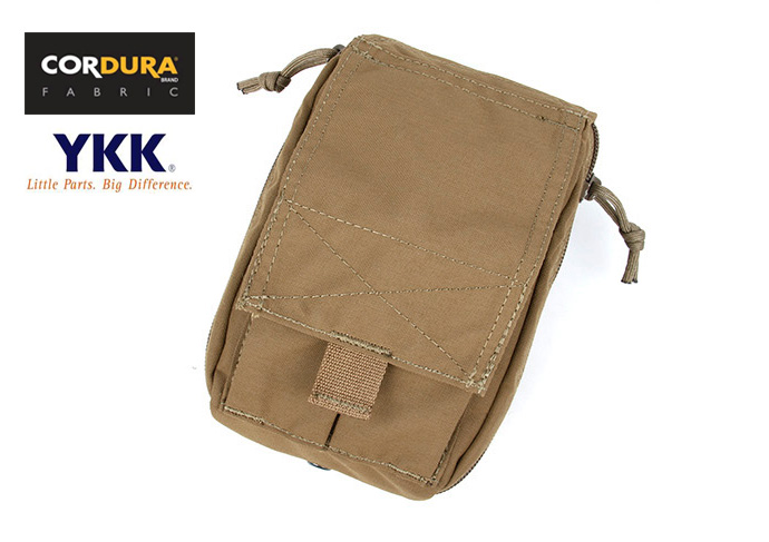 TMC 330 Personal Medical Pouch Coyote Brown Military Tactical MOLLE Medical Pouch(SKU050960)
