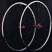 Bicicleta de estrada Conjunto Roda RT C200 Antes de 2 depois de 5 Peilin 700C 120 Anel de liga de Alumínio De Corte Grupo Roda de Fibra de Carbono Ultra-leve