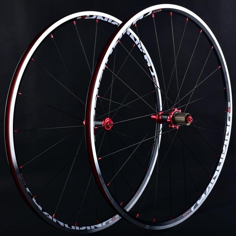 Road Bike Wheel Set RT C200 Before 2 after 5 Peilin 700C 120 Ring Break  Aluminum alloy Ultra-light  Carbon Fiber Wheel Group hobby bike rt fly а