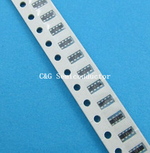 Conjunto de chips de película gruesa SMD, 100 Uds., 10 K ohm 10 Kohm 5% 0603 8P (2*4P), matriz de red de resistencia (0R 10R 100R 220R 330R 470R 1K 2,2 K 4,7 K 1M
