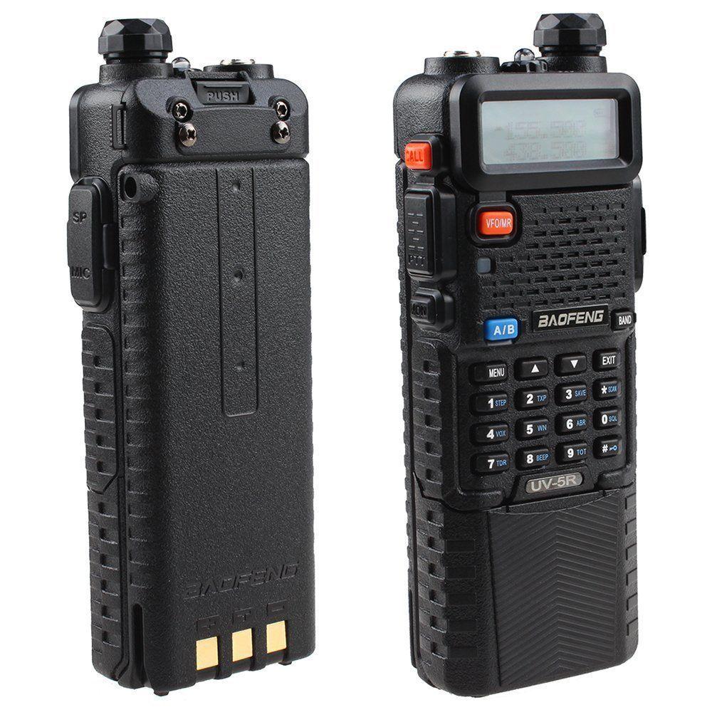 Hunt Portable Radio Walkie Talkie komplekti Ham Radio stacija Baofeng UV 5R radiosakari CB Radio Comunicador Uv5r UV-5R Baofeng