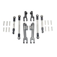 For 1/7 TRAXXAS UNLIMITED DESERT RACER UDR ALLOY ALUMINUM FRONT/REAR SWAY BAR/ STAINLESS STEEL LINKAGE SET UDR321FRS Rc Car Kit