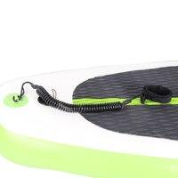 Черный цвет стоячего доска поводок лодыжки шнур САП доска аксессуар безопасным страховочный трос surf доска для серфинга исправить rope эласти...