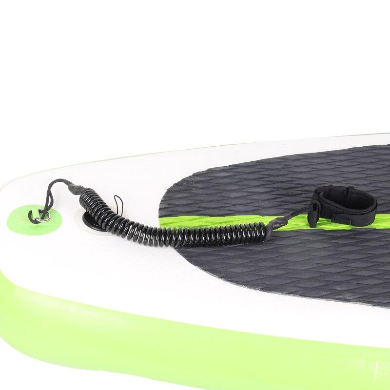Schwarz farbe stand up paddle board leine ankle schnur sup board zubehör sicher sicherheit seil surf board surfbrett fix seil elastische
