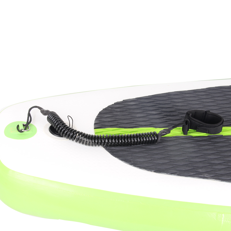 Black Color Stand Up Paddle Board Leash Ankle Cord Sup Board Accessory Safe Safety Rope Surf Board Surfboard Fix Rope Elastic