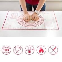 60*40 см антипригарный силиконовый коврик для выпечки из стекловолокна прокатки коврик для теста печенье выпечка пирожных макарон коврик Кондитерские инструменты 15