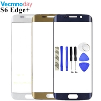 5 7 High Quality Front Outer Glass Lens Replacement For Samsung Galaxy S6 Edge Plus S6