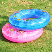 Swimming Ring Inflatable Floats pool Swimming Float For Adult Kids Floats inflatable cartoon Swim Ring Water Sports Toy(China)