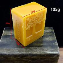 Органический натуральный чистый пчелиный воск 45 г баллина мед воск пчелиный косметический уход Защита деревянная мебель