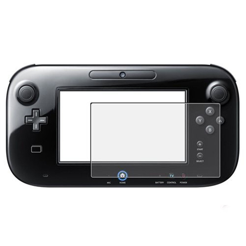 3 PCS Anti-Glare LCD Screen Skin Clear Film Protector Cover For Nintendo Wii U Gamepad