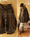 Kimono japonés mori chica hippie de boho étnico de la vendimia harajuku chaqueta de mezclilla woolt mujeres otoño invierno gruesa chaqueta de abrigo