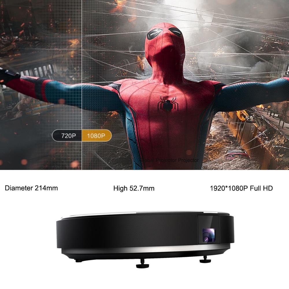 Image 2 - JMGO N7L 1920*1080P Full HD DLP Projector 700 ANSI Lumens Smart Beamer Android WIFI HDMI USB Support 4K Video LED TV JMGO G7