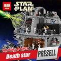 Lepin 05063 4016 unids Nueva Auténtica Estrella Guerra Fuerza Waken UCS Estrella de la muerte de Bloques de Construcción Ladrillos de Juguetes Educativos Niño Juguetes Regalos 75159