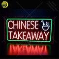Неоновая вывеска для Китайский фаст-фуд для ресторана неоновая трубка вывеска стеклянный Декор ручной работы windows Nean знак световая лампа ...