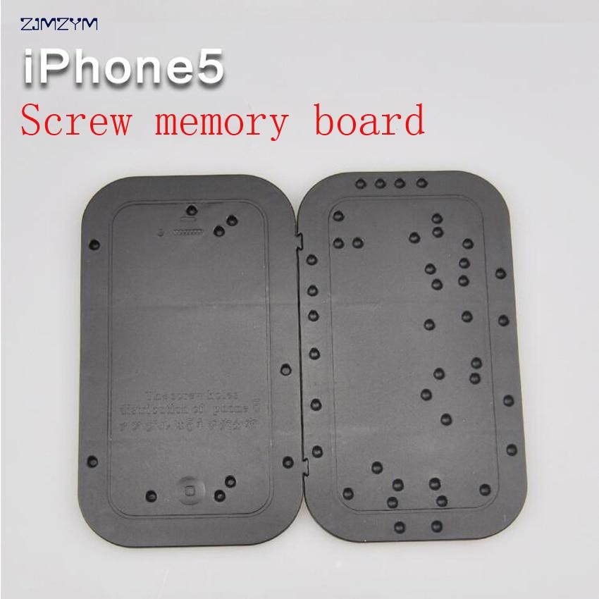 iphone5 Tornillo placa de memoria Placa de posición Desmontar la herramienta de mantenimiento distribución placa de posicionamiento para iPhone