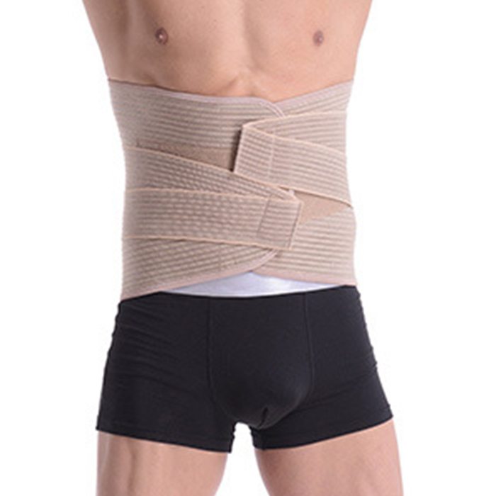 Body Relaxation Massager Back Belt  Back Pain Lower Lumbar Support Spinal Air Traction Physio Decompression Back Brace double pull lumbar support lower back belt brace band waist four aluminium strips protection back waist support belt yw 01m27