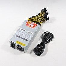 ZEC BTC LTC DASH Miner PSU 2150 Вт блок питания для Antminer S9 S9j S9k S9 SE L3+ E3 Z9 Z11 T9 Innosilicon A9 Ebit E9i ETH PSU
