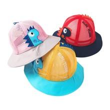 Summer Baby Hat for Girls Cotton Mesh Sun Spring Autumn Cap Boy Panama Children Hats Kids Caps
