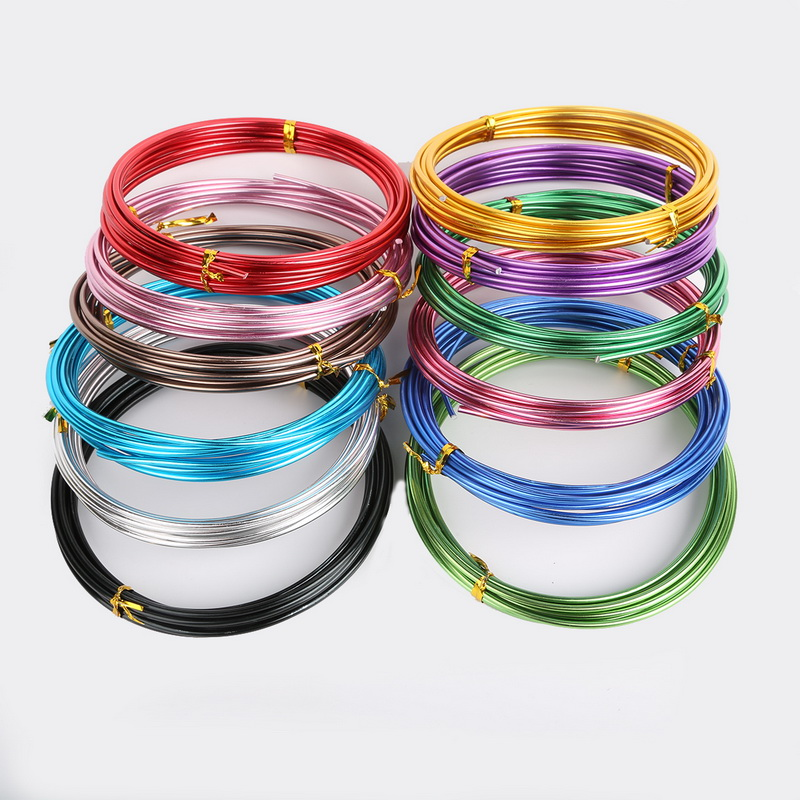 US $1.54 10% OFF|Best Selling  5m/lot 1.5mm (15 gauge) Aluminum Wire Soft Metal Fashion Floristry Wire For DIY Jewelry Findings & Craft Making-in Jewelry Findings & Components from Jewelry & Accessories on Aliexpress.com | Alibaba Group