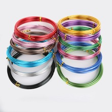 US $1.54 10% OFF Best Selling  5m/lot 1.5mm (15 gauge) Aluminum Wire Soft Metal Fashion Floristry Wire For DIY Jewelry Findings & Craft Making-in Jewelry Findings & Components from Jewelry & Accessories on Aliexpress.com   Alibaba Group