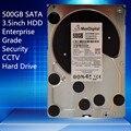 "500GB SATA 3.5"" Enterprise Grade Security CCTV Hard Drive Warranty for 1-year"
