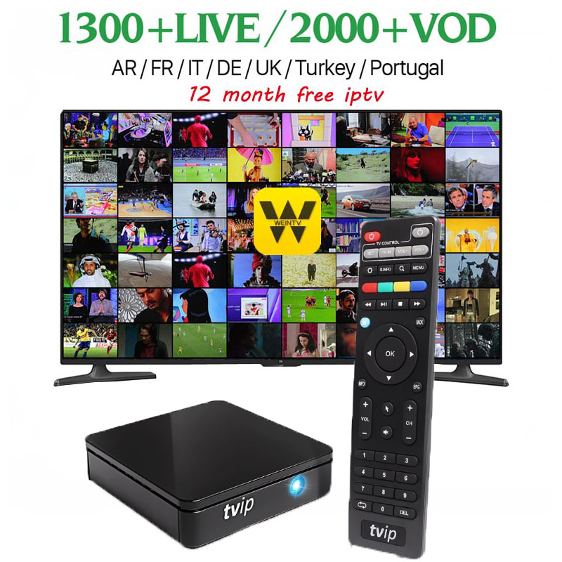 TVIP 410 412 Box Amlogic Quad Core 4GB Android 4.4/Linux Dual OS Smart TV Box Support H.265 Airplay DLNA h96 v7 android tv box s905 t9s plus android tv box amlogic quad core 2g 16g 2 4 ghz android 5 1 h 265 hdmi 2 0 miracast dlna smart tv caja
