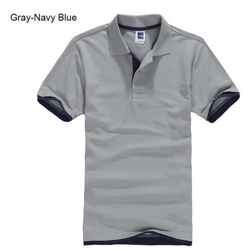 URSPORTTECH Men's Polo Shirt For Men Desiger Polos Men Cotton Short Sleeve shirt Clothes jerseys golftennis Plus Size XS- XXXL 16