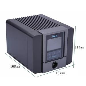 Image 2 - Оригинальная электрическая паяльная станция QUICK TS1200A без свинца, регулируемая цифровая сварочная станция для ремонта материнской платы телефона