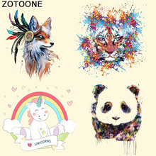 ZOTOONE Mini Size Patches Cartoon Animal Iron on for Clothing Insects Ironing Parches Bordados Stickers T-shirts F
