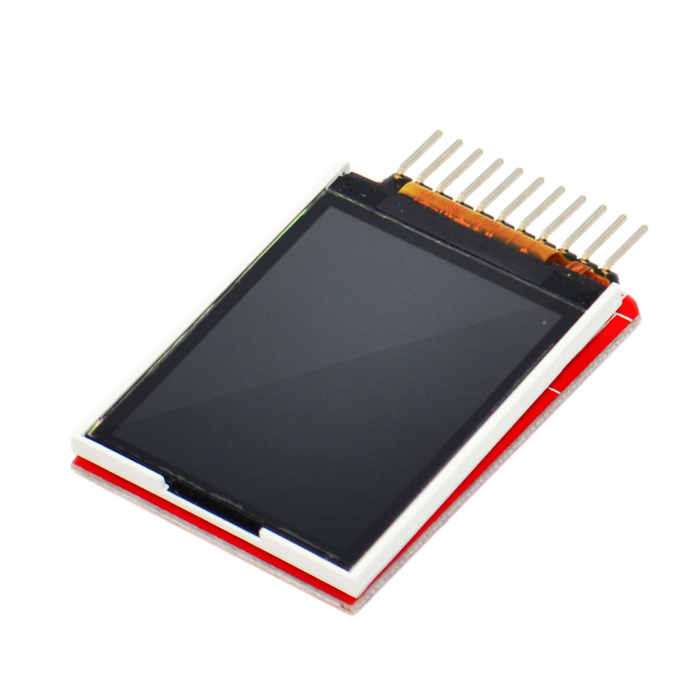 Image 2 - KEYES 1.8 inch TFT LCD Module LCD Screen Module ST7735 SPI serial 51 drivers 4 IO driver TFT Resolution  128*160 For Arduino-in Demo Board from Computer & Office