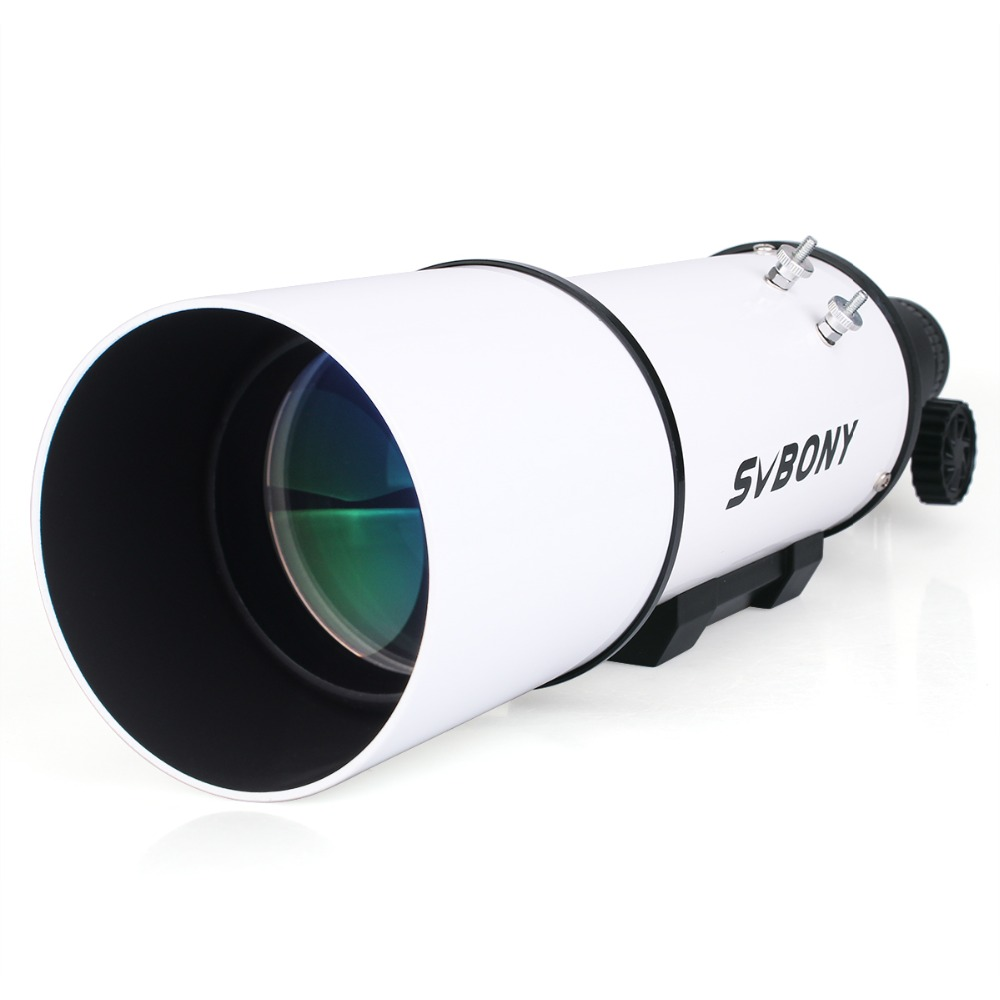 SVBNOY SV20 80mm Compact Refractor Astronomical Telescope Astronomy Monocular Optical Tube Imaging Clear for Guide Star цена
