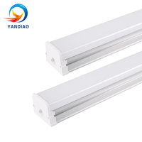 YANDIAO LED Tube Lights 2835 SMD Triproof Lamps Dust Proof Lamp Three anti light fixture 40w Integration LED Batten Lights