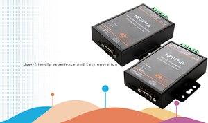 Image 2 - HF5111B シリアルデバイスサーバ RS232/RS485/RS422 シリアルイーサネット送料 RTOS シリアルサーバ F22498