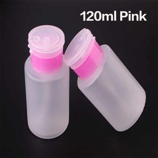 Ladymisty 60ml Cleanser Plus Remover Nail Gel Enhance Shine Sticky Remover Nail Polish UV Gel 120ml Clear Bottle Nail Art Liquid