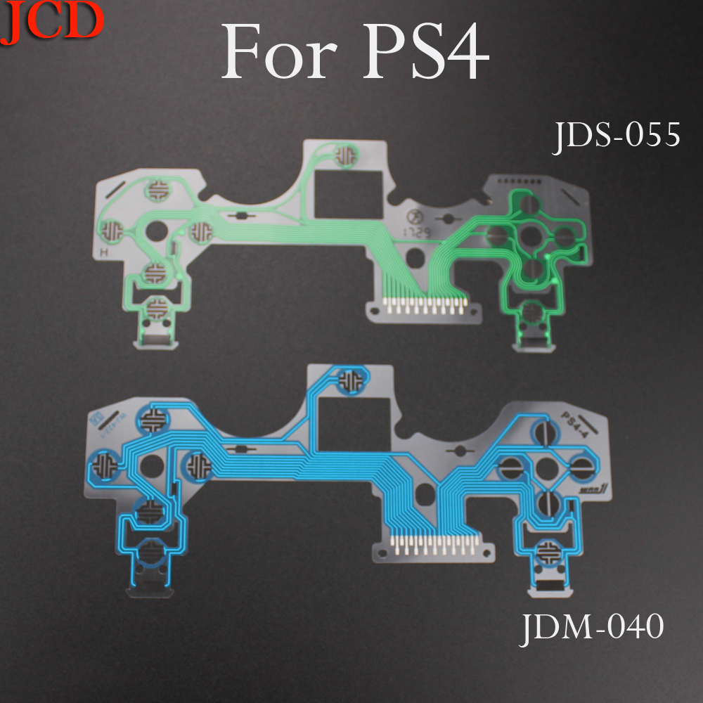 For PS4 JDM 050 JDM-040 Ribbon Circuit Board Film Joystick Flex Cable Conductive Film For PlayStation 4 Pro JDS 055 Controller