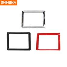 Shineka abs Авто Стайлинг gps приборная панель украшение отделка
