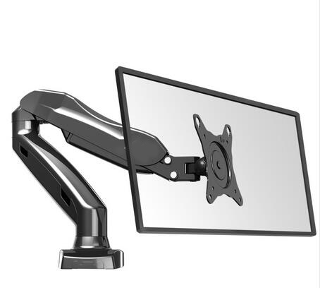 FREE SHIPPING NB F80 Desktop17-27 LCD LED Monitor Holder Arm Gas Spring Full Motion TV Mount Loading 2-6.5kgs варочная панель электрическая electrolux ehf 96240 xk черный