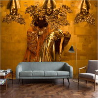 Beibehang Custom Wallpaper Murals Of Any Size Modern European Real Life World Famous Painting Nightclub Background