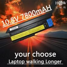 HSW 7800mAh Battery For LENOVO ThinkPad X200 X200S X201 X201i X201S 42T4834 42T4835 43R9254 42T4537 42T4541 42T4536 42T4538 цена 2017