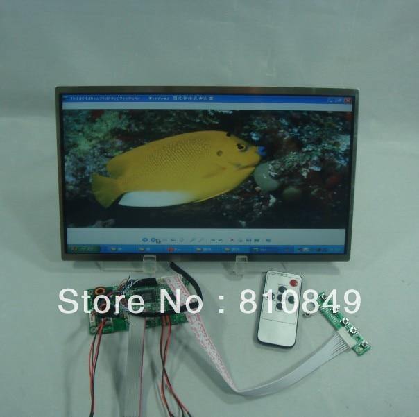 VGA+2AV+Audio+Reversing Lcd driver board+13.3inch N133B6 1366*768 Lcd Panel hdmi vga 2av reversing lcd controller driver board with 6 2inch 800x480 hsd062idw1 lcd panel