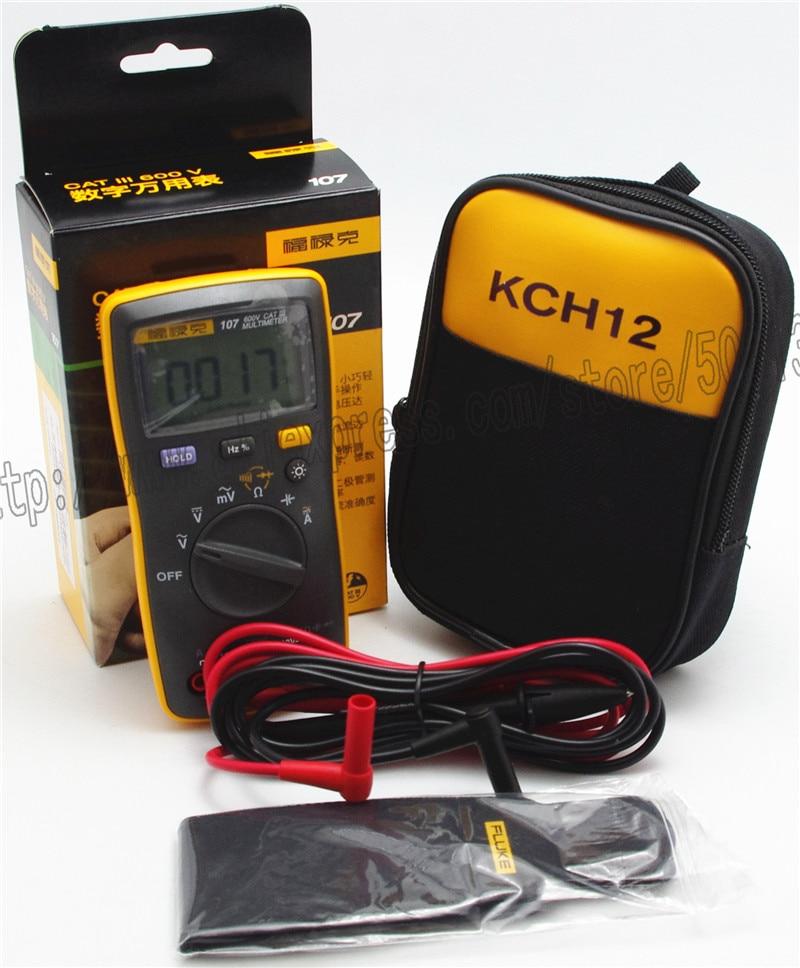Fluke 107 KCH12 SOFT CASE Palm sized portable handheld Digital F107 kch12 soft case