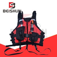 Customized Water Sports Rescue Life Jacket 150N Water Rescue Big Buoyancy Lifesaving Optional Oxtail Rope