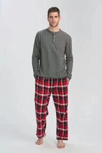 Free shipping.spring Brand new men Sleep Pajamas,sleeping home clothing,cotton plus size sleepingwear,homme quality.sales