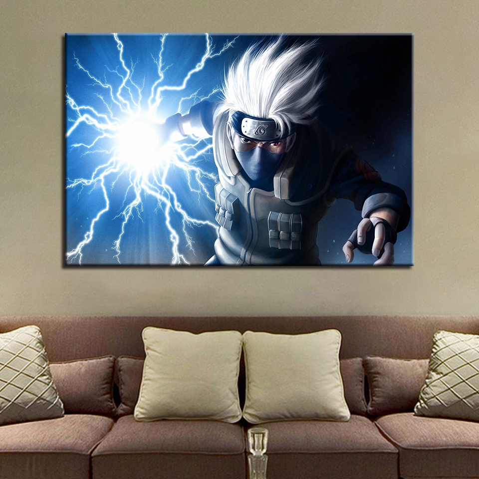 Wall Art Pictures Hd Prints Framework 1 Piecepcs Naruto